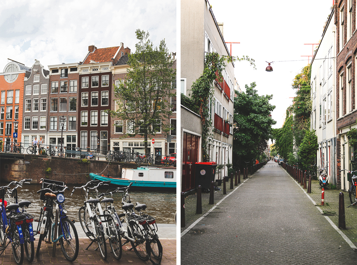 Amsterdam side streets