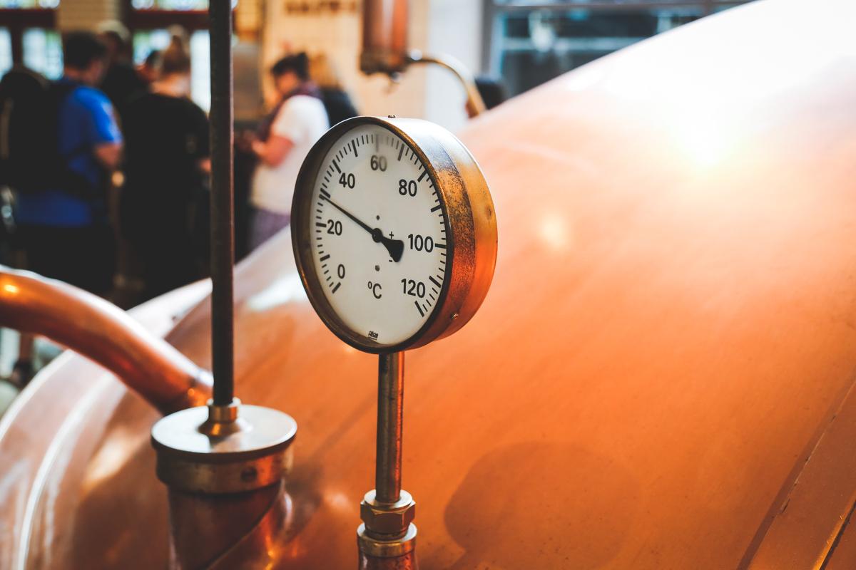 Amsterdam Heineken brewery tour