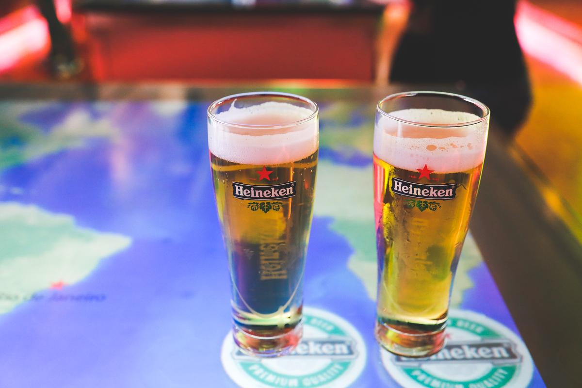 Amsterdam Heineken beer