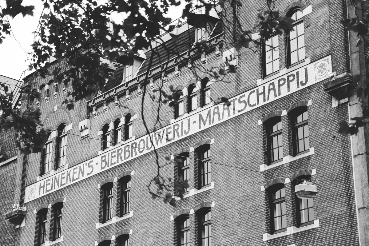 Amsterdam Heineken brewery