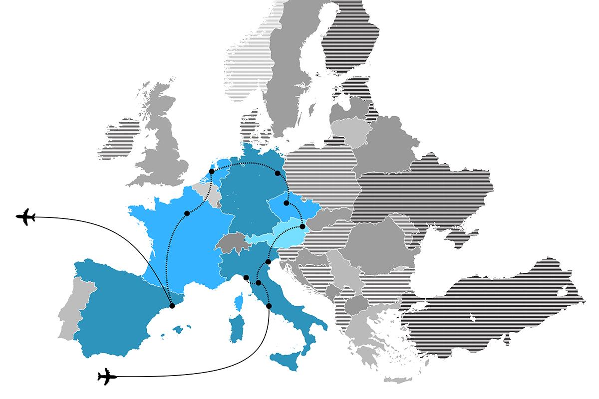 Europe Map Blog